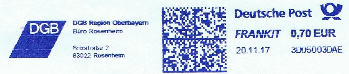 德国FRANKIT德国友联邮资机符志欣赏(十五)