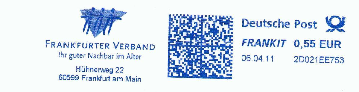 德国FRANKIT瑞士FRAMA邮资机符志欣赏(三)