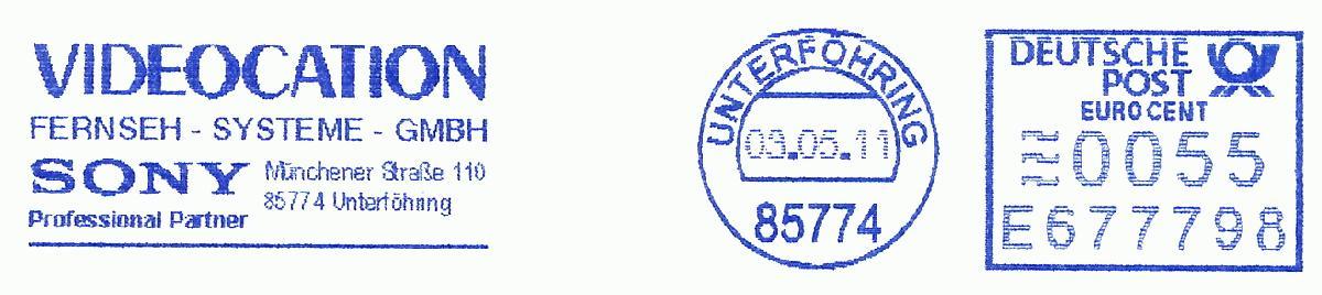 德国使用的必能宝Personal Post型邮资机戳欣赏(八)