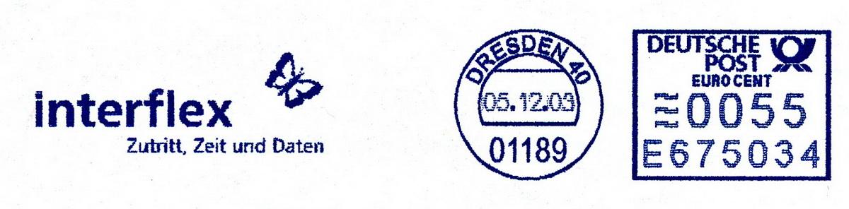 德国使用的必能宝Personal Post型邮资机戳欣赏(三)