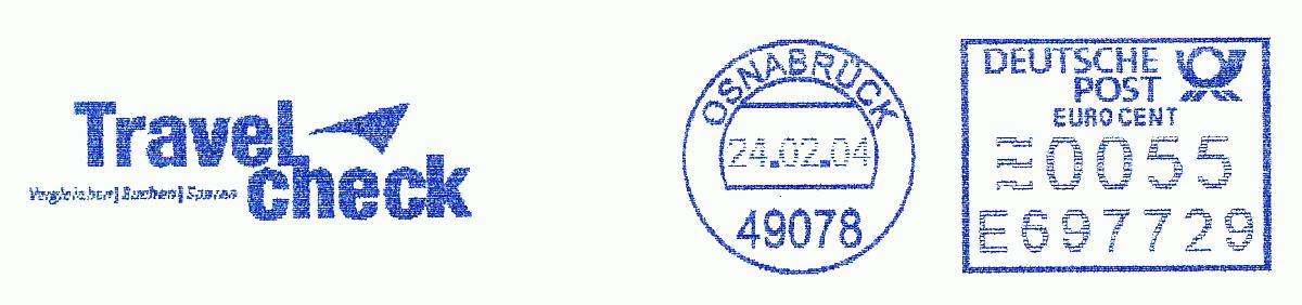 德国使用的必能宝Personal Post型邮资机戳欣赏(十)