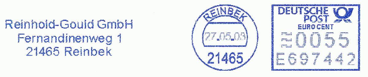 德国使用的必能宝Personal Post型邮资机戳欣赏(十一)