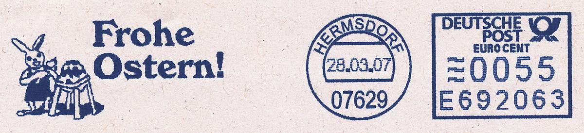 德国使用的必能宝Personal Post型邮资机戳欣赏(二)