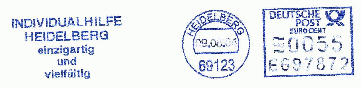 德国使用的必能宝Personal Post型邮资机戳欣赏(十四)