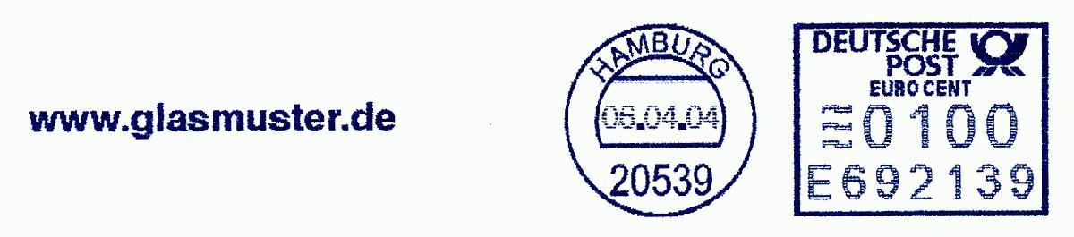 德国使用的必能宝Personal Post型邮资机戳欣赏(十七)