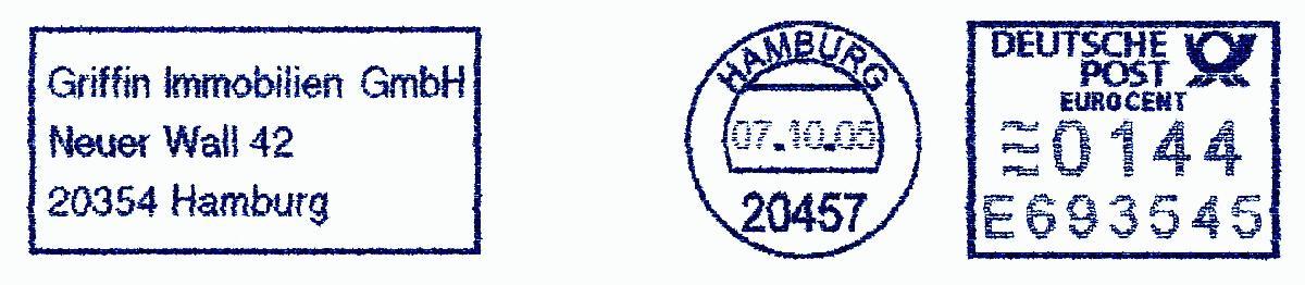 德国使用的必能宝Personal Post型邮资机戳欣赏(十九)